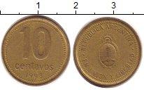 Изображение Дешевые монеты Аргентина 10 сентаво 1993 Медно-никель VF