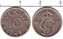 Изображение Дешевые монеты Швеция 10 эре 1978 Медно-никель XF-