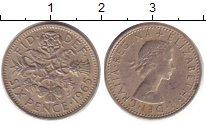 Изображение Барахолка Великобритания 6 пенсов 1965 Медно-никель XF
