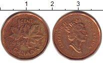 Изображение Барахолка Канада 1 цент 1995 Медь XF-