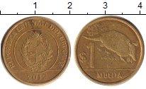 Изображение Дешевые монеты Уругвай 1 песо 2012 Медно-никель XF-