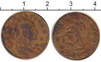 Изображение Дешевые монеты Мексика 10 сентаво 1969 Латунь VF-