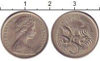 Изображение Дешевые монеты Австралия 5 центов 1965 Медно-никель VF