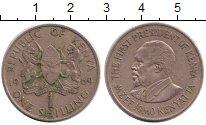 Изображение Барахолка Кения 1 шиллинг 1969 Медно-никель XF