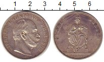 Изображение Монеты Пруссия 1 талер 1871 Серебро XF Победа над Францией