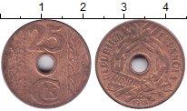 Изображение Монеты Испания 25 сентим 1938 Бронза XF+