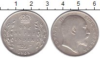 Изображение Монеты Индия 1 рупия 1903 Серебро XF- Эдуард VII