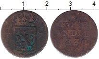 Изображение Монеты Нидерландская Индия 1 цент 1838 Медь VF