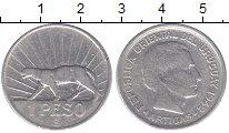 Изображение Монеты Уругвай 1 песо 1942 Серебро XF-