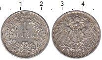 Изображение Монеты Германия 1 марка 1915 Серебро XF+