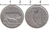 Изображение Монеты Ирландия 1 шиллинг 1940 Серебро XF
