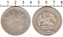 Изображение Монеты Мексика 8 реалов 1888 Серебро XF