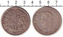 Изображение Монеты Боливия 8 солей 1860 Серебро XF-