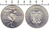Изображение Монеты Панама 5 бальбоа 1970 Серебро UNC