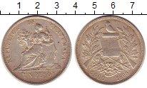 Изображение Монеты Гватемала 1 песо 1895 Серебро XF