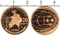 Изображение Монеты Италия 20 евро 2006 Золото Proof-