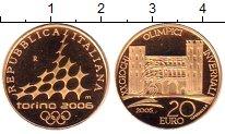 Изображение Монеты Италия 20 евро 2005 Золото Proof-