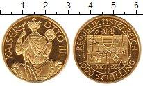 Изображение Монеты Австрия 1000 шиллингов 1996 Золото Proof