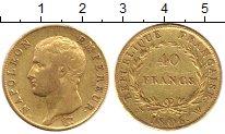 Изображение Монеты Франция 40 франков 1806 Золото XF-