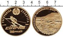 Изображение Монеты Беларусь 200 рублей 2006 Золото Proof