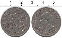 Изображение Барахолка Кения 1 шиллинг 1974 Медно-никель XF