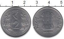 Изображение Барахолка Индия 2 рупии 2011 Медно-никель UNC-