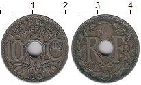 Изображение Дешевые монеты Франция 10 сентим 1931 Медно-никель XF