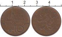 Изображение Дешевые монеты Чехия 10 крон 1993 Медь VF