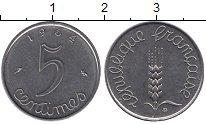 Изображение Дешевые монеты Франция 50 сантим 1964 нержавеющая сталь XF