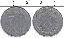 Изображение Барахолка ГДР 50 пфеннигов 1959 Алюминий VG