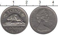 Изображение Дешевые монеты Канада 5 центов 1973 Медно-никель VF+
