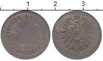 Изображение Дешевые монеты Германия 5 пфеннигов 1878 Железо F