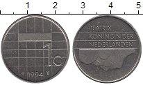 Изображение Барахолка Нидерланды 1 цент 1994 Медно-никель XF