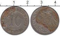 Изображение Дешевые монеты Германия 10 пфеннигов 1912 Железо VG