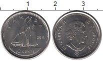 Изображение Барахолка Канада 10 центов 2011 Медно-никель XF