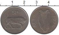 Изображение Барахолка Ирландия 5 пенсов 1970 Медно-никель XF