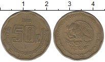 Изображение Барахолка Мексика 50 песо 2006 Латунь-сталь XF-