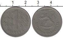 Изображение Барахолка Финляндия 1 марка 1972 Медно-никель VF