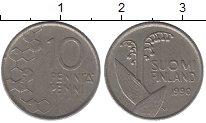 Изображение Дешевые монеты Финляндия 10 пенни 1990 Алюминий Fine