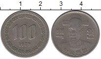 Изображение Дешевые монеты Южная Корея 100 вон 1979 Медно-никель VF-