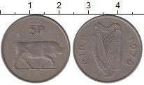 Изображение Барахолка Ирландия 5 пенсов 1970 Медно-никель XF-