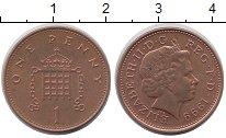 Изображение Барахолка Великобритания 1 пенни 1999 сталь с медным покрытием