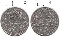 Изображение Барахолка Польша 50 грошей 1923 Медно-никель XF-