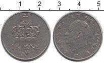 Изображение Дешевые монеты Норвегия 1 крона 1974 Медно-никель VF+