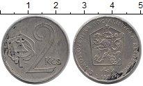 Изображение Дешевые монеты Чехословакия 2 кроны 1982 Медно-никель VF