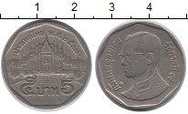 Изображение Дешевые монеты Таиланд 5 бат 1999 Медно-никель XF