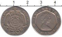 Изображение Барахолка Великобритания 20 пенсов 1982 Медно-никель VF+