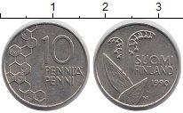 Изображение Дешевые монеты Финляндия 10 пенни 1990 Медно-никель XF
