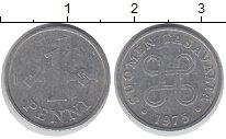 Изображение Дешевые монеты Финляндия 1 пенни 1975 Медно-никель VF