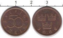 Изображение Дешевые монеты Швеция 50 эре 2006 Медь XF-